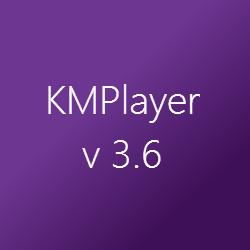 Список обновлений KMPlayer v.3.6